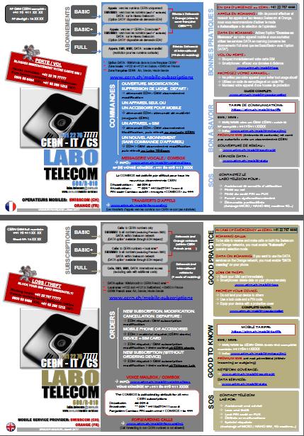 TELECOM LAB LEAFLET
