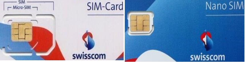 Micro / Mini SIM (Dual cut) - NANO SIM