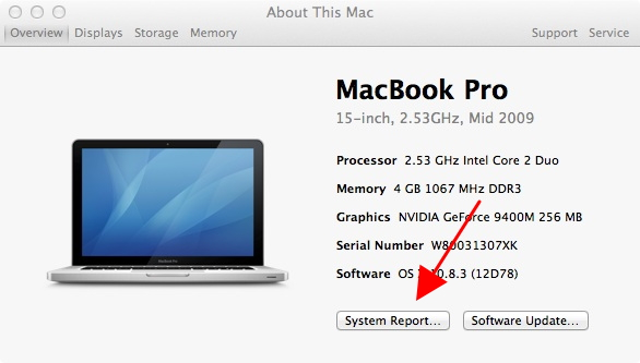 How to finding my photos on macbook pro model number